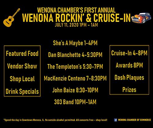 Wenona Rockin' & Cruise-In