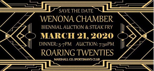 Wenona Chamber Biennial Auction & Steak Fry Postponed